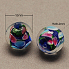 Handmade Lampwork Beads X-LAMP-R103-10mm-M-2