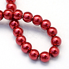 Baking Painted Glass Pearl Bead Strands X-HY-Q003-3mm-51-4