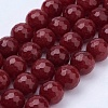 Natural Malaysia Jade Bead Strands X-G-F488-8mm-21-1