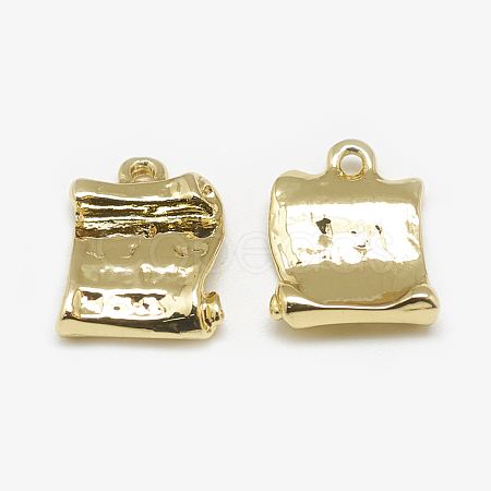 Brass Charms KK-N200-065-1