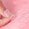 Silicone Clear Double Side Adhesive Glue Sticky Tape For False Nail Tips MRMJ-T007-005A-2