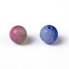 Two Tone Natural Jade Bead StrandsX-G-R165-6mm-M1-2