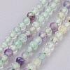 Natural Fluorite Beads StrandsG-F568-134-2mm-1