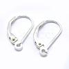 925 Sterling Silver Leverback Earring FindingsSTER-G027-22S-1