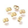 Brass Ear NutsX-KK-P001-32G-1