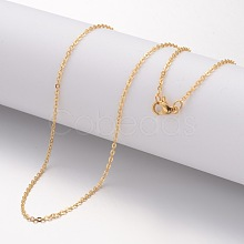 304 Stainless Steel Necklace Making X-MAK-K004-17G