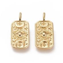 Brass Pendants KK-L188-22G