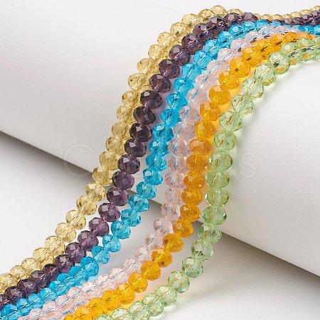 Glass Beads StrandsEGLA-A034-T6mm-D-1