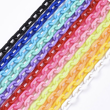 Opaque Acrylic Cable Chains X-SACR-N010-002