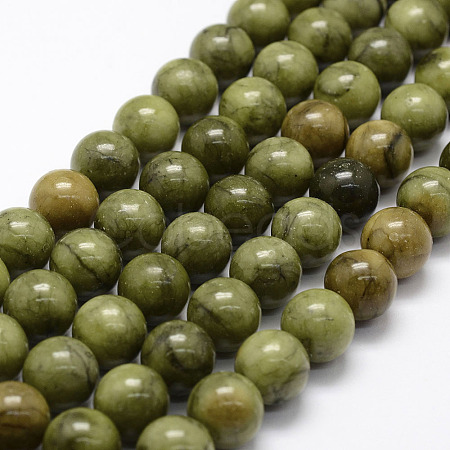 Natural Chinese Jade Beads Strands G-F363-12mm-1