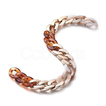 Handmade Curb ChainsAJEW-JB00568-04-1
