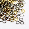 Mixed Color Open Jump Rings Iron Jump RingsJR7MM-M1-1