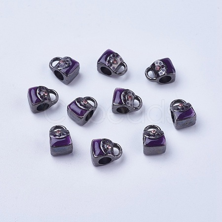 Alloy European Beads LFD1920Y-1-NFB-1