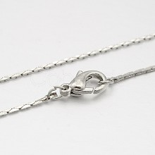 Brass Coreana Chain Necklace Making MAK-J009-21P