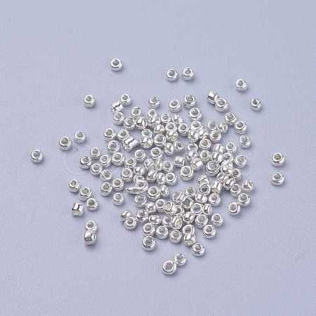 Electroplate Glass Seed Beads SEED-Q003-2-1