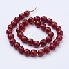 Natural Malaysia Jade Bead Strands X-G-F488-8mm-21-2
